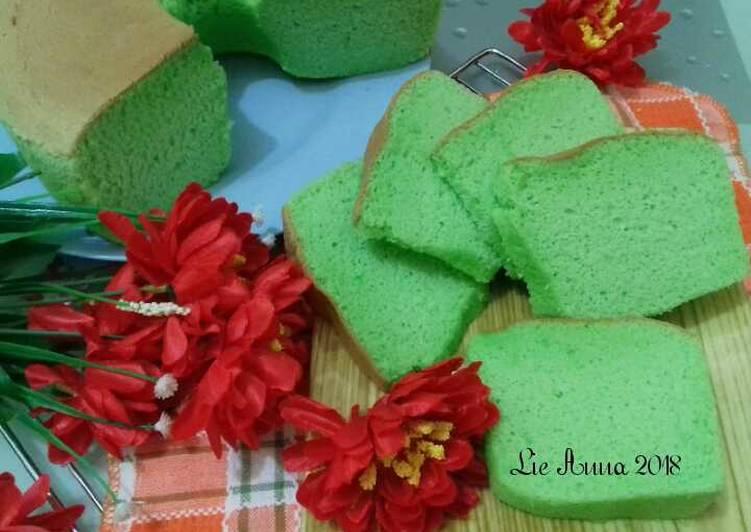 Resep (31)Pandan Chiffon Cake