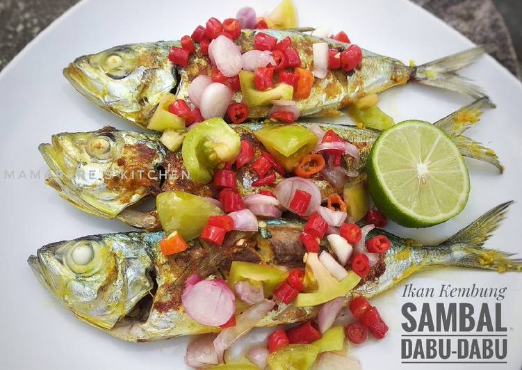 Resep Ikan Kembung (Bakar) Sambal Dabu-Dabu