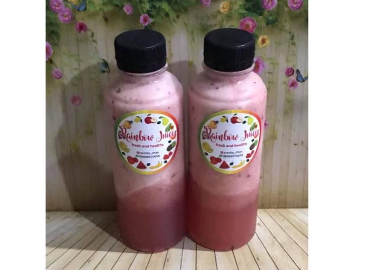 Resep Diet Juice Pineapple Pear Melon Grape Cranberry