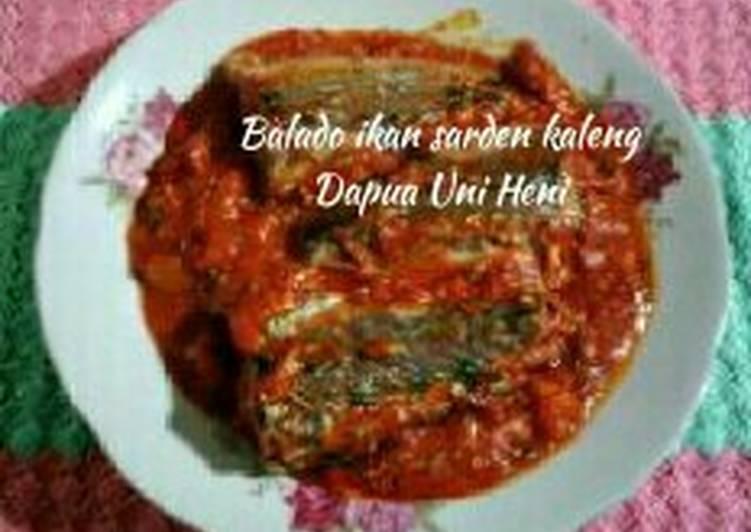 Resep Balado ikan sarden kaleng