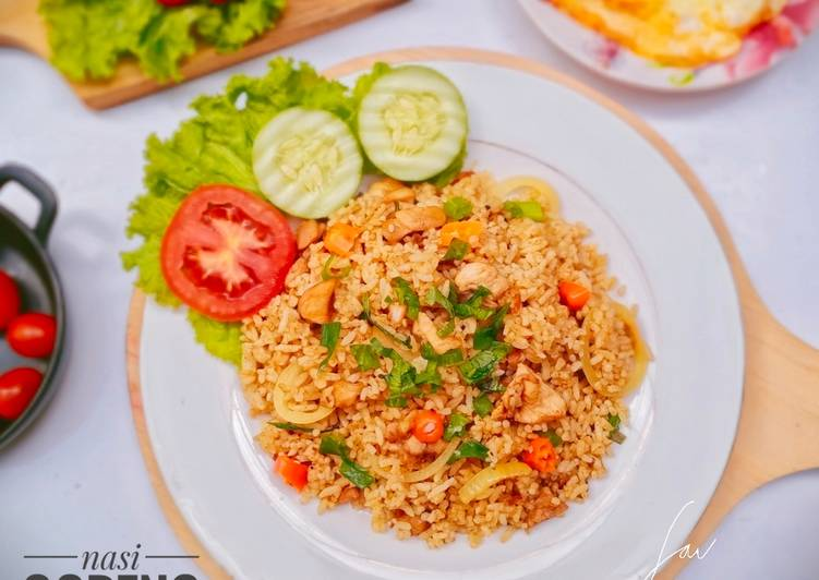 Resep Nasi Goreng Kari Ayam