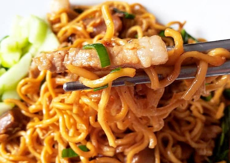 Resep Chaw Mien (Mie Goreng)