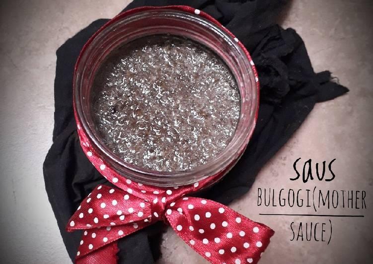 Resep Saus bulgogi(mother sauce)