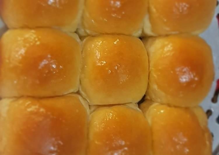 Resep Roti sobek empuk metode water roux