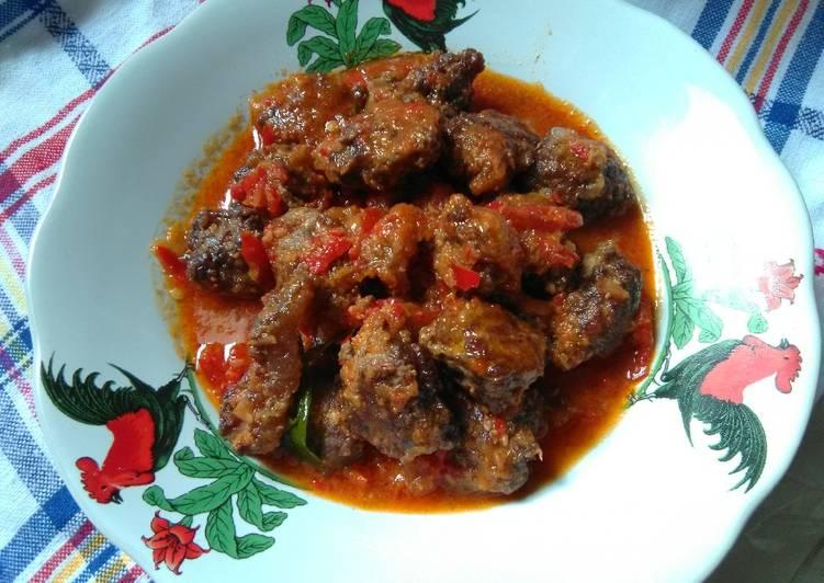 Resep Sambal Goreng Prentil(daging sapi)
