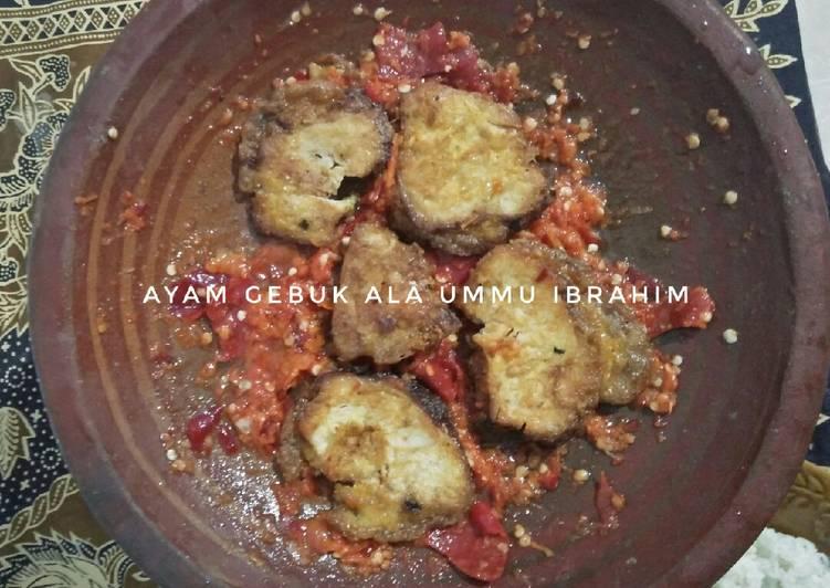 Resep 34.Ayam Gebuk