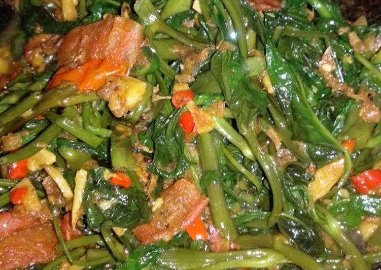 Resep Tumis Kangkung (menu anak)