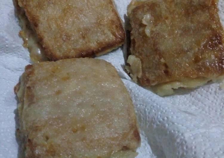 Resep Crackers Isi Vla
