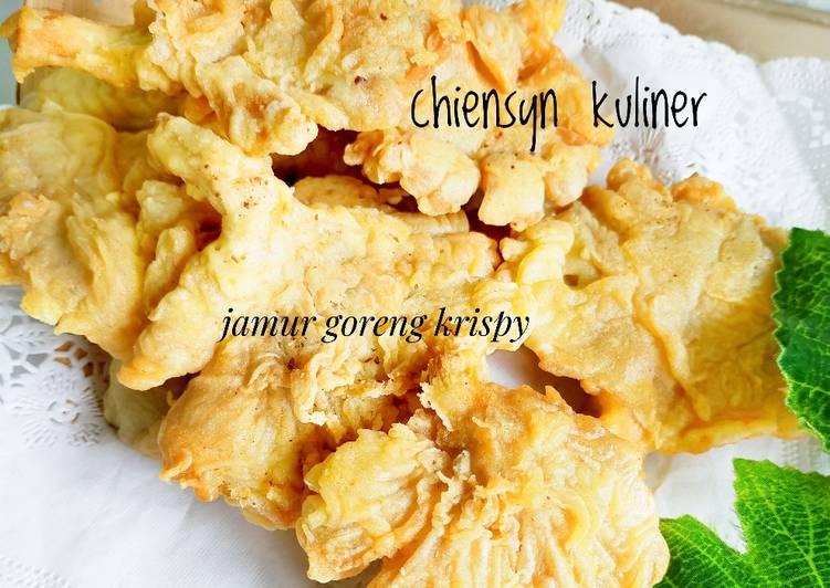 Resep Jamur goreng krispy