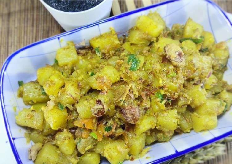 Resep Potato Curry