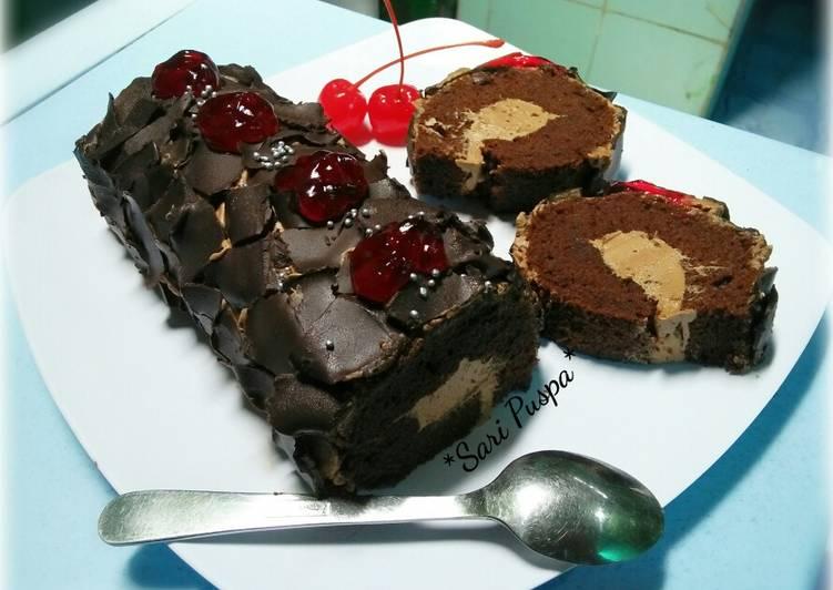Resep BOLU GULUNG (coklat moka)