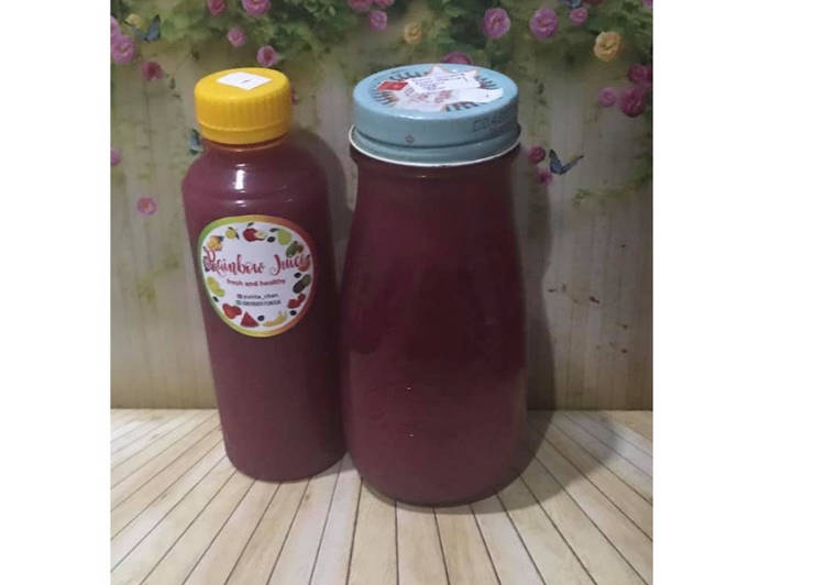 Resep Diet Juice Grape Apple Lemon Purple Cabbage Black Gojiberry