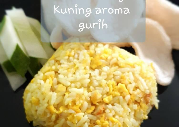 Resep Nasi Goreng Kuning Aroma Gurih