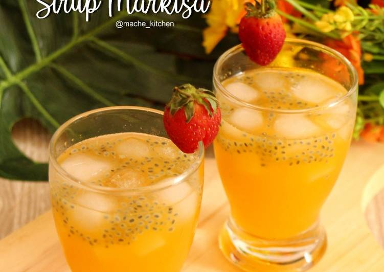 Resep Sirup Markisa Homemade