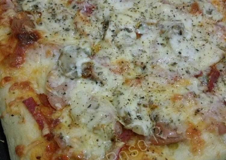Resep Chubby Pizza