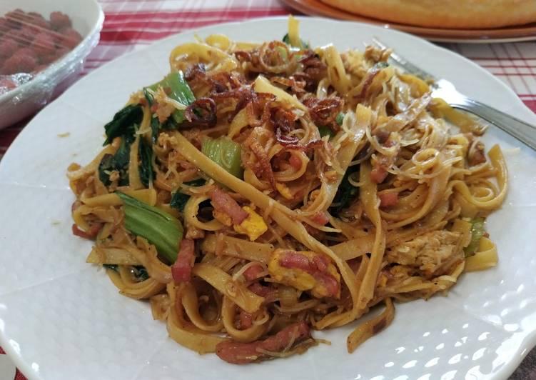 Resep Fettucini mix Bihun Goreng