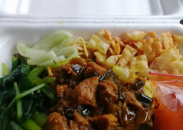 Resep Mie ayam box (ide jualan)