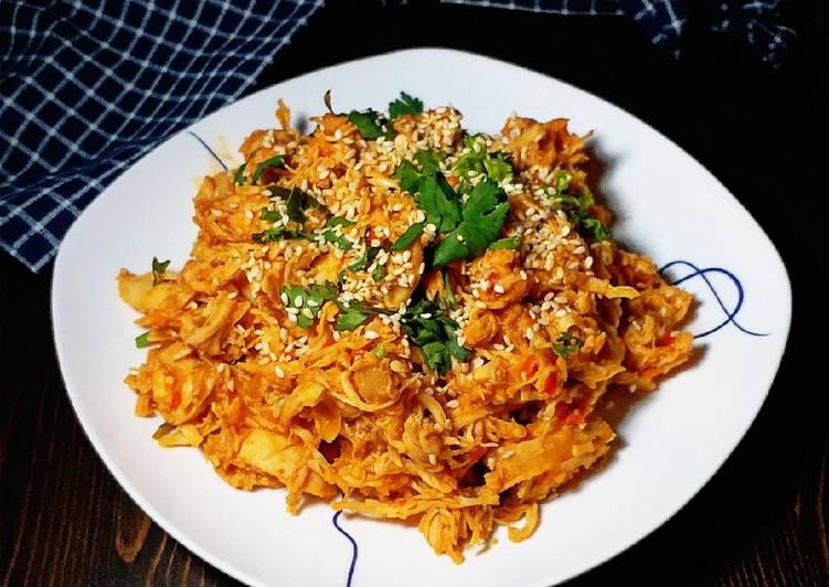 Resep Ayam Suwir Bali Ketofy