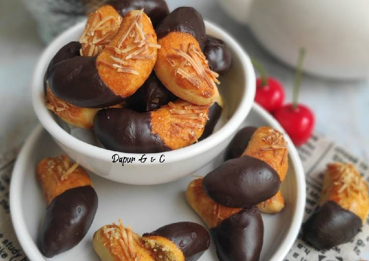 Resep Nastar coklat keju