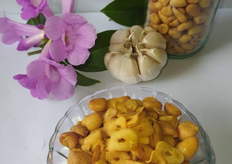 Resep Kacang Bawang Renyah