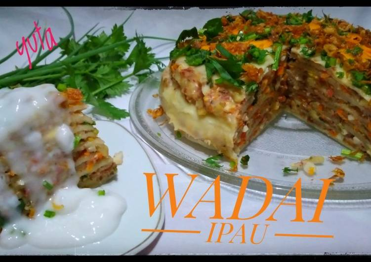 Resep Wadai Ipau