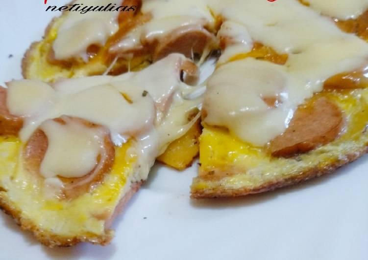 Resep Pizza kentang sosis
