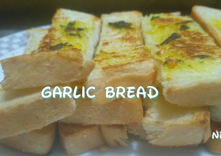 Resep Garlic Bread Teflon