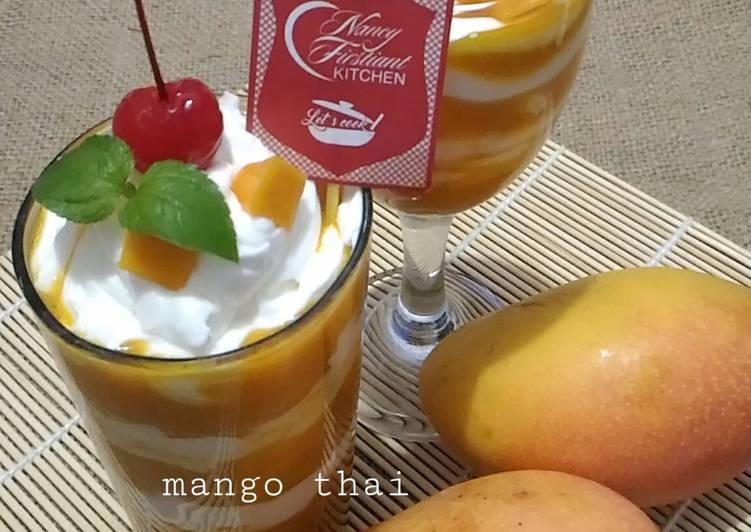 Resep Mango Thai Mudah #pr_recookminumandingin