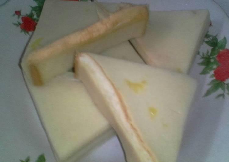 Resep Puding nangka rowar(roti tawar)