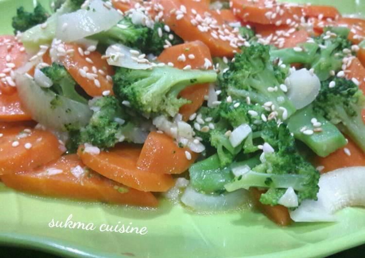 Resep Cah Brokoli Mentega