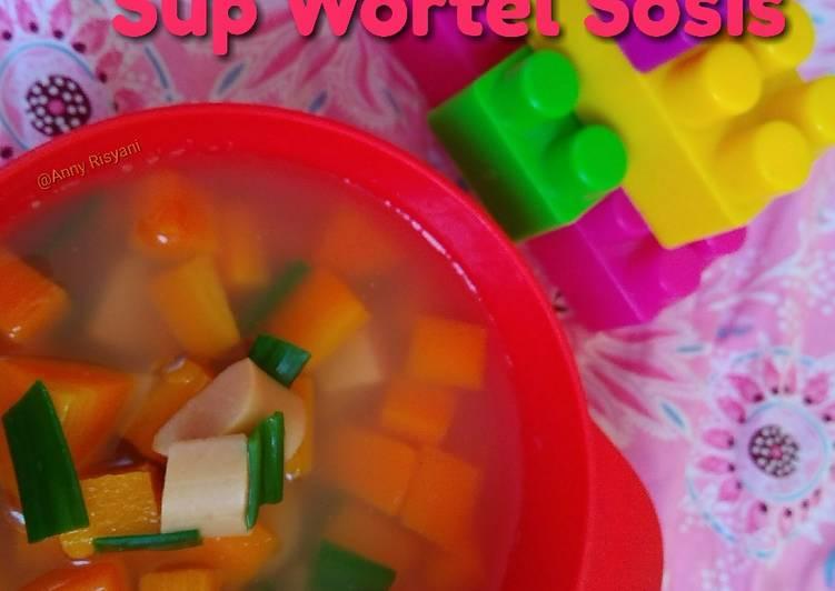 Resep Sup wortel sosis