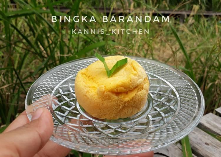 Resep Bingka Barandam Khas KalSel