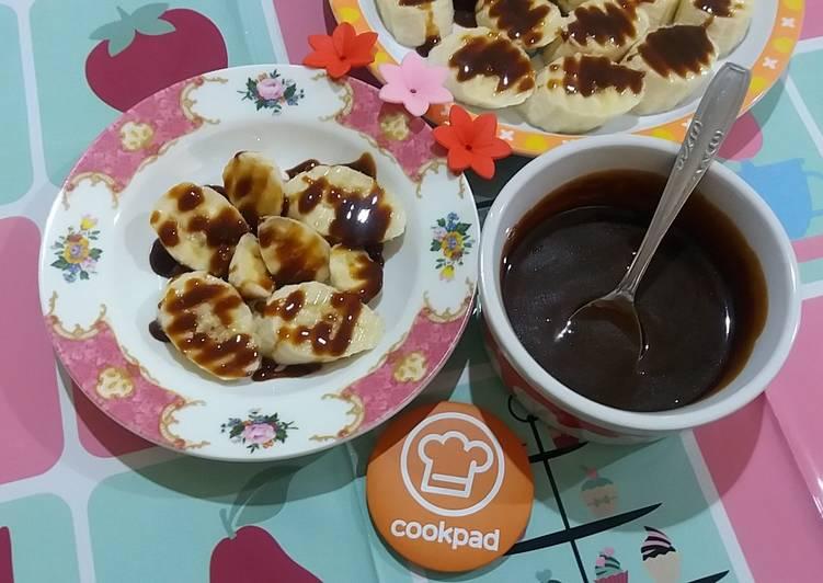 Resep 5Pisang saus karamel