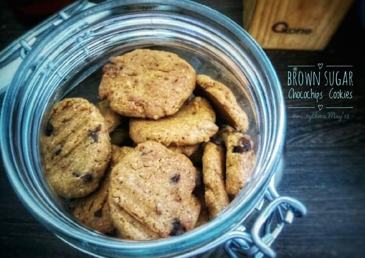 Resep Brown Sugar Chococips Cookies #BuatRamadhanBerkesan