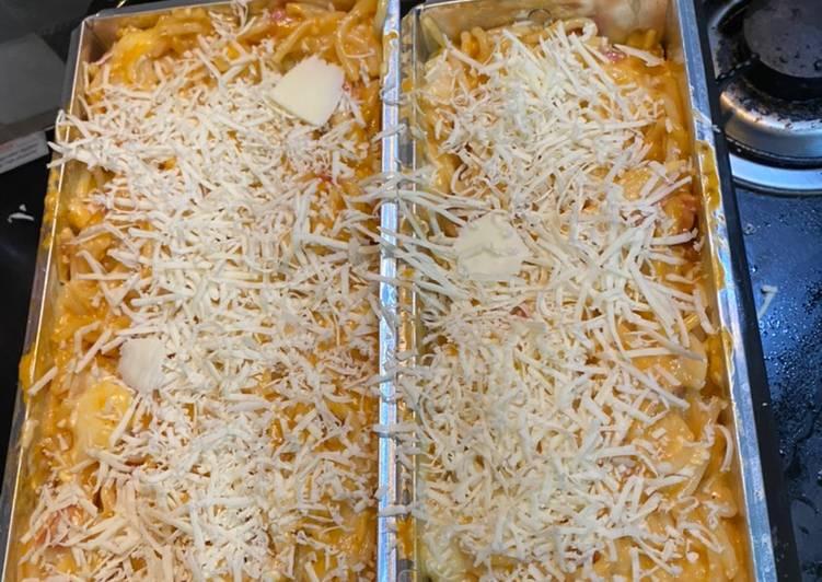 Resep Baked spaghetti