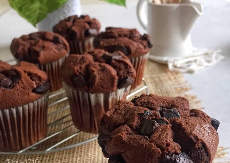 Resep Muffin Coklat - Enak dan Mudah