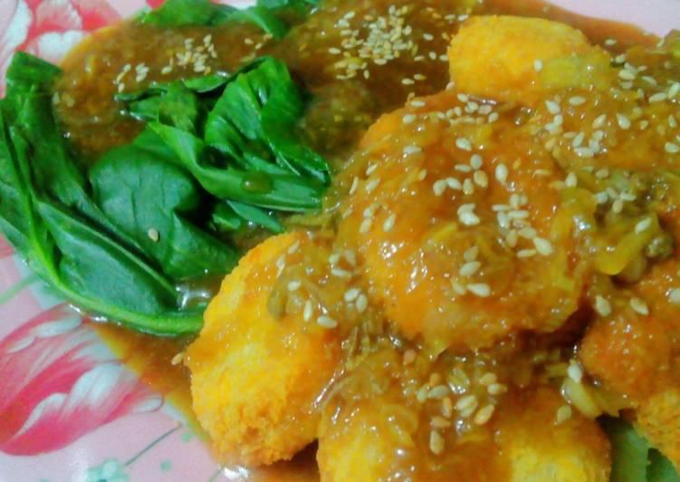Resep Chicken nugget bumbu wijen