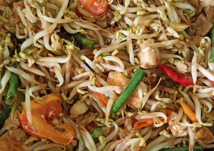 Resep Oseng toge mix,tahu,tempe, kacang panjang
