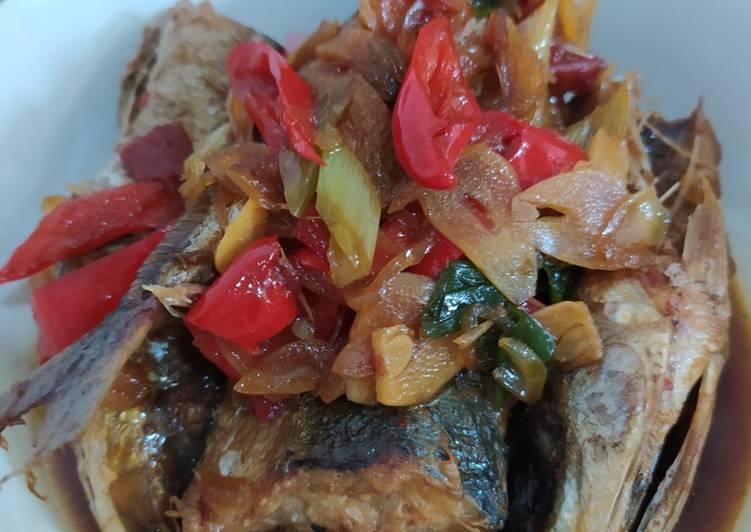 Resep Ikan Layang Masak Kecap