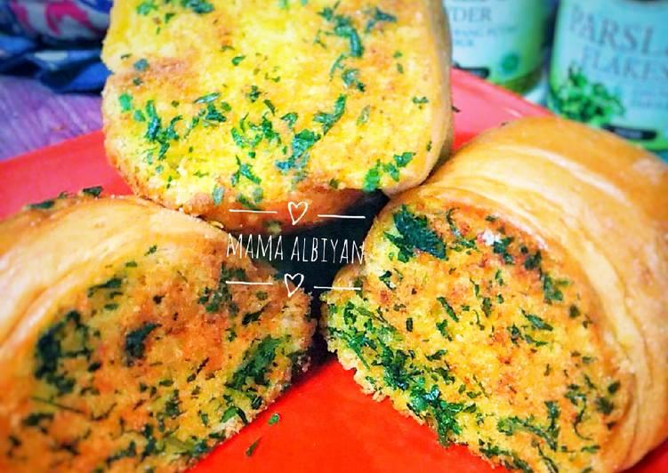 Resep Garlic Bread Kaldu Jamur