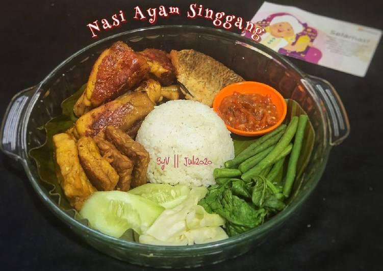 Resep Nasi Ayam Singgang #Week9