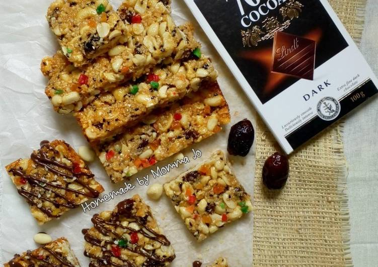 Resep Peanut and Coconut Snack Bar