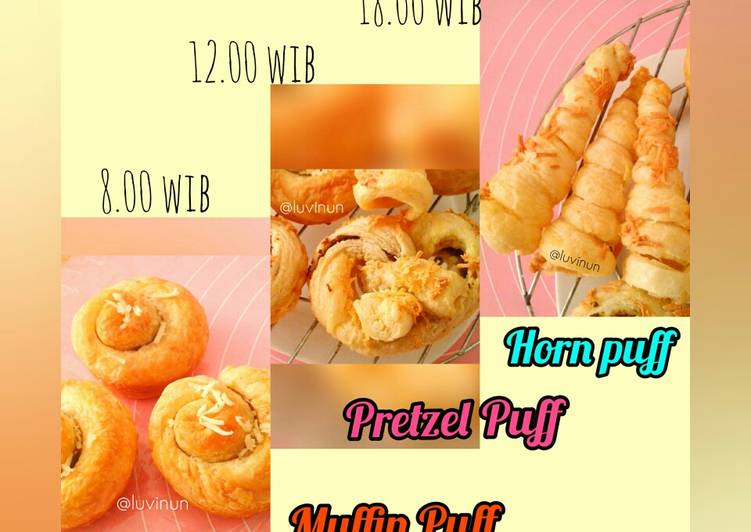 Resep Cemil Puff Seharian