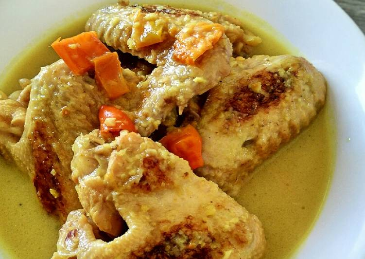 Resep Ayam Bakar Kuah Lodho Khas Tulungagung