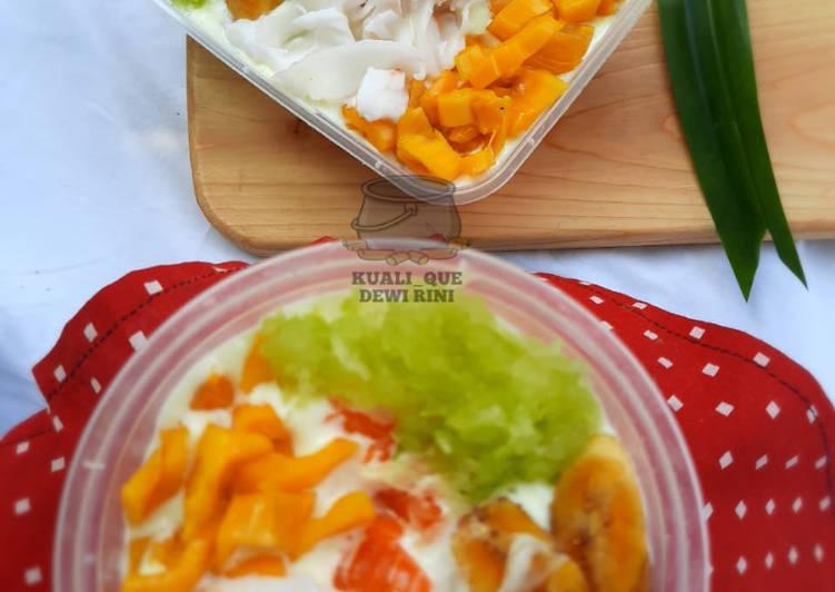Resep Spongecake (Durian_Pandan) Es Teller