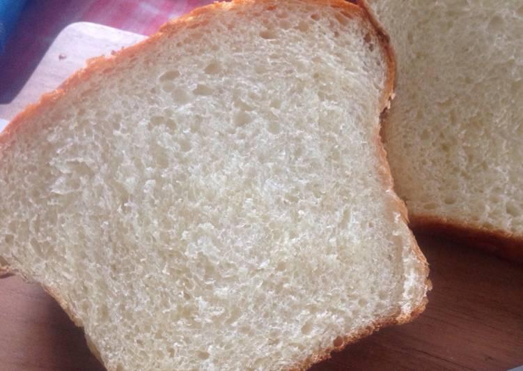 Resep Milk Loaf - Roti Tawar