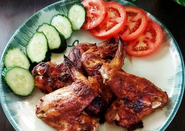 Resep Sayap ayam bakar Simple