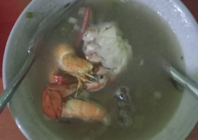 Resep Sup kepiting udang