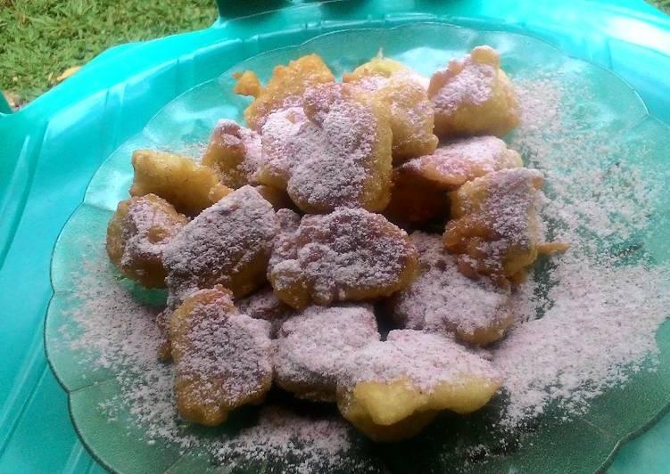 Resep Pisang goreng kayu manis