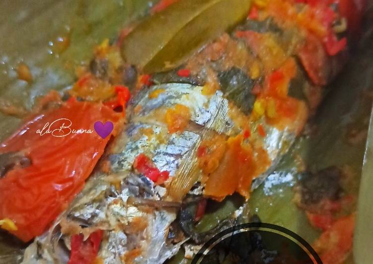 Resep 1Pepes Ikan Selar